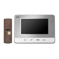 CTV-DP401 Комплект цветного видеодомофона