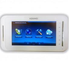 KW-E707N белый (IP System) IP домофоны KENWEI