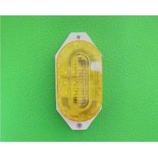 Светодиодная Строб-лампа накладная, жёлтая Шлагбаумы российского производства САТРО