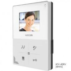 KCV-401EV белый Цветной монитор видеодомофона без трубки (hands-free)